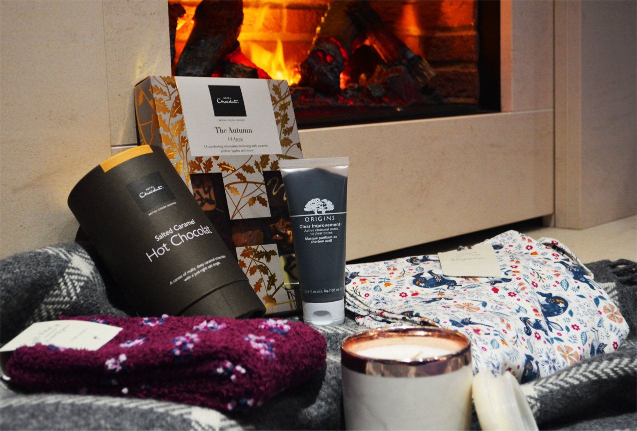 Unwind with a cosy hamper