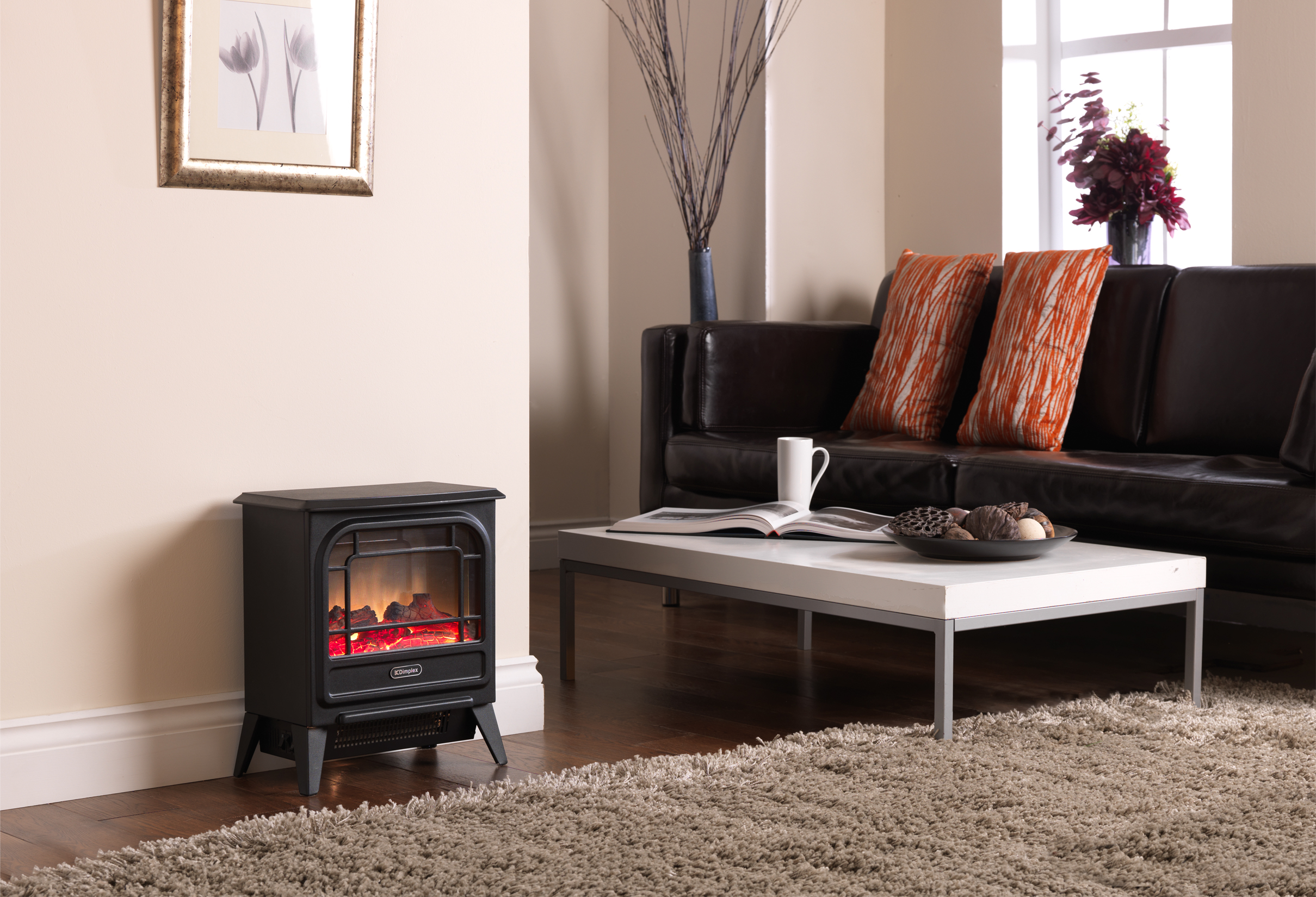 Dimplex Micro Stove makes a small room special