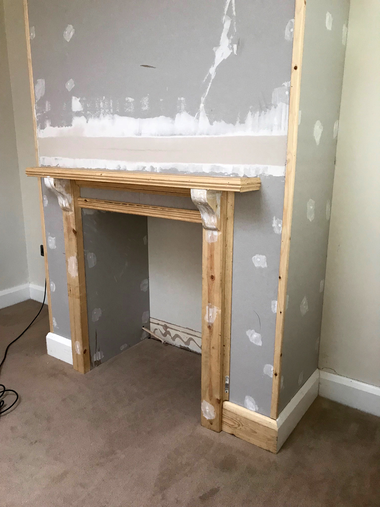 THTMM Fireplace build in progress