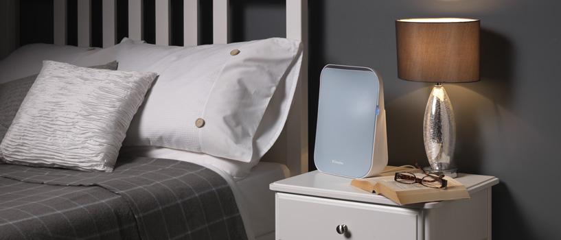 Air purifier bedroom shot