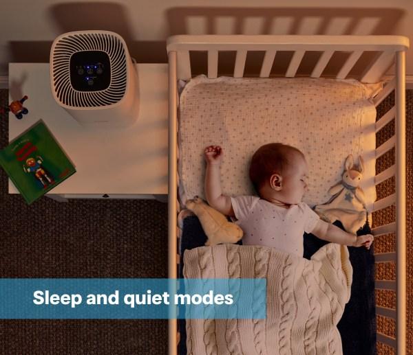 DXBRVAP4 Dimplex air purifier in a nursery room