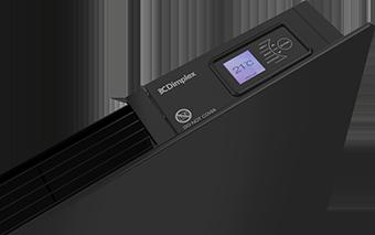 New Girona black electric panel heater - black