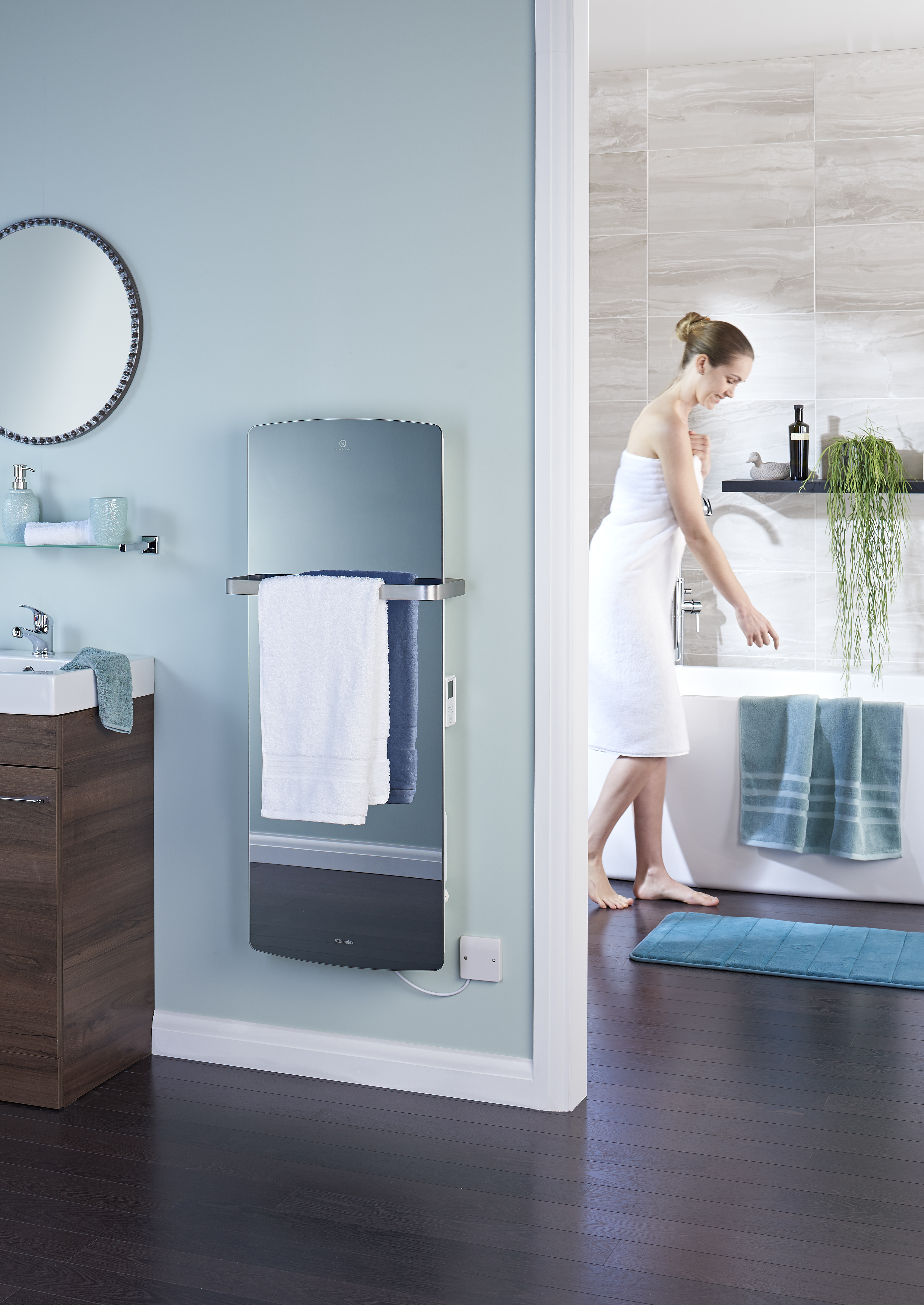 Bathroom heater infrared electric new heaters for washrooms wall - Five Affordable Ways To Transform Your Bathroom