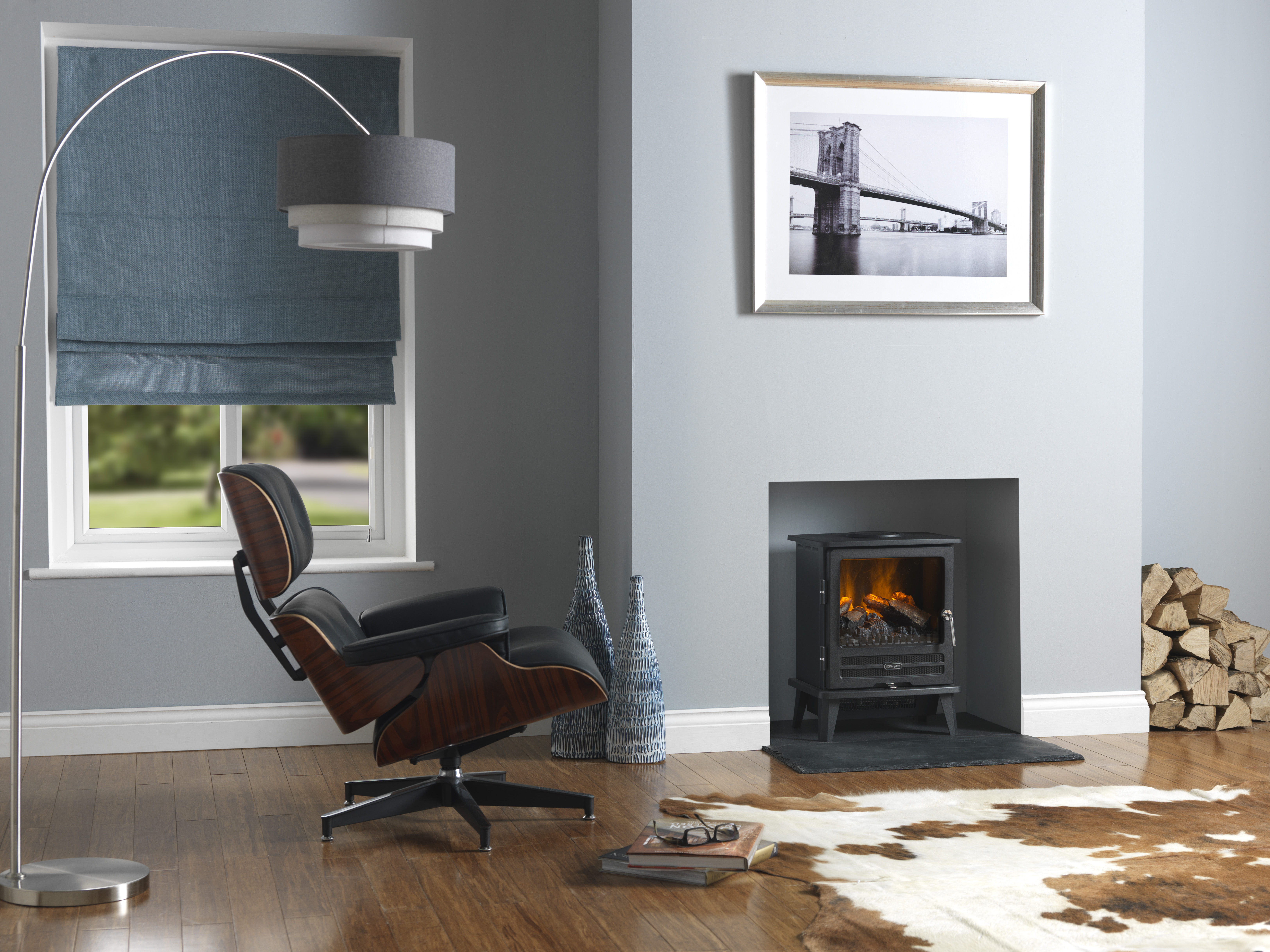 The Charm Of A Wood Burning Stove With The Ease Of