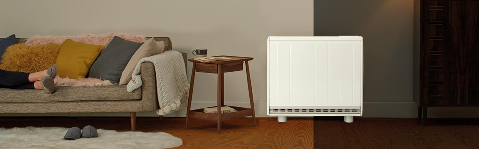Installed electric heating Quantum off-peak heater from Dimplex
