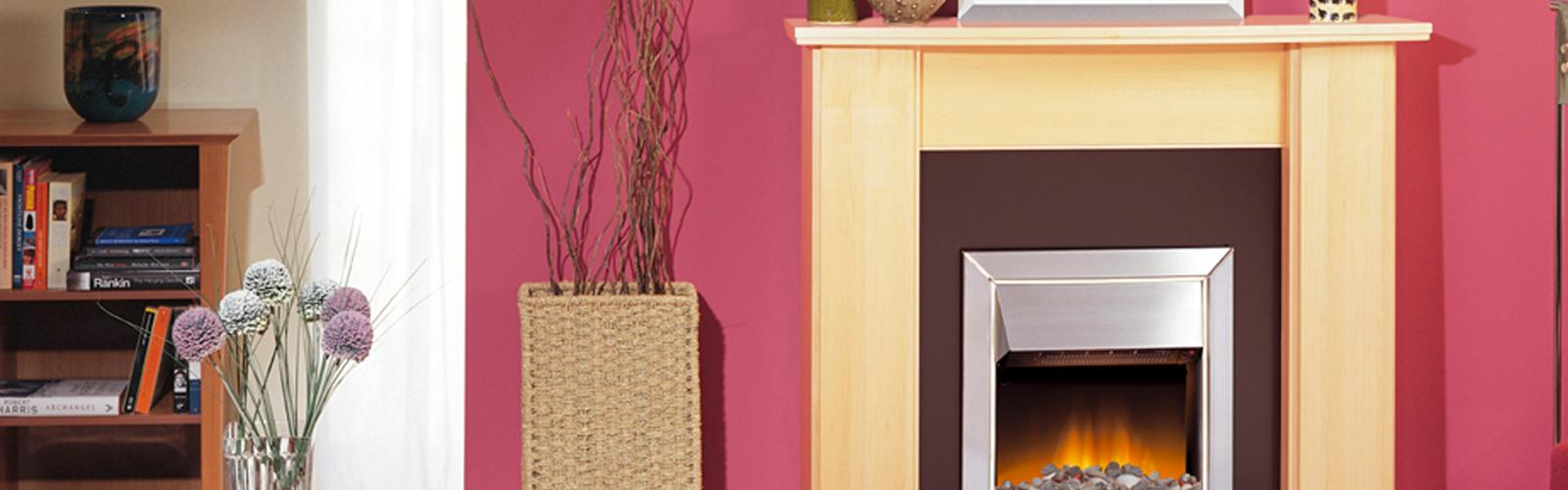electric heating fire surrounds by dimplex