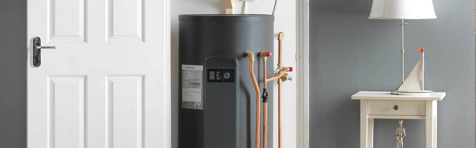 Water heater for kitchen in apartment