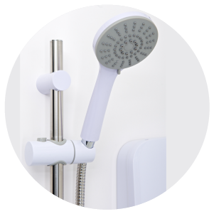 3 mode shower head