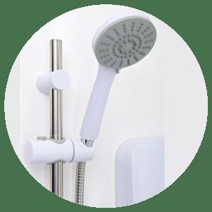 3 mode shower head
