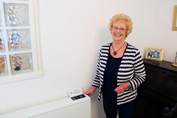Rita's heater - Dimplex Quantum 150 case study