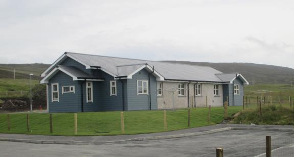 Ground Source Heat Pumps installed in Brae housing, Shetland Islands