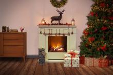 Moorefield Christmas mantle
