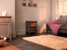 Dimplex Evandale Slate Grey Optimyst electric stove