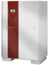 Brine-to-water heat pump with 2 performance levels