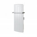 White metal bathroom panel heater solus