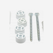 Components & Spares - RADIATOR FIXING KIT (SPACERS) - 85739S - 1