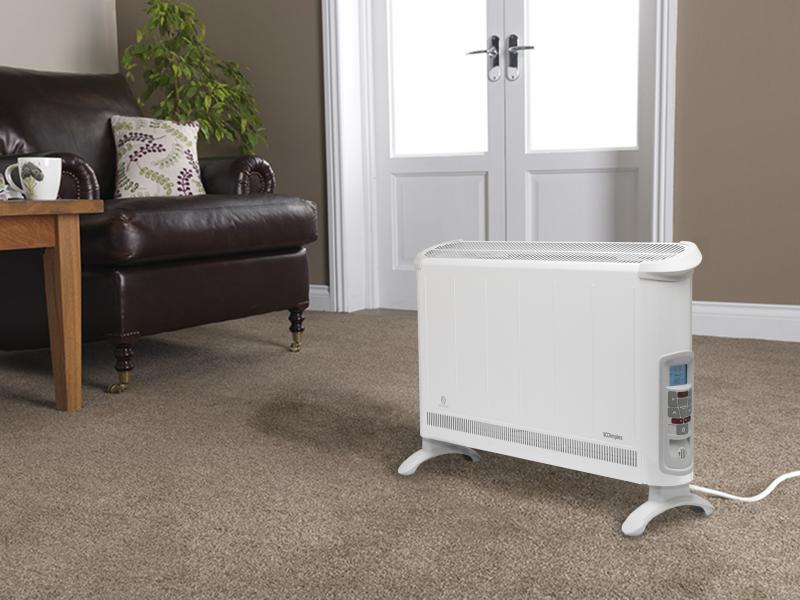3kW Bluetooth Controlled Freestanding Convector