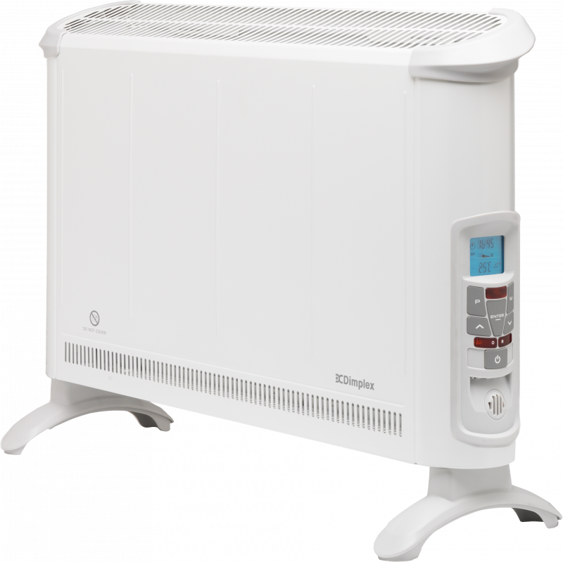 402BT White Convector Left Angle Solus