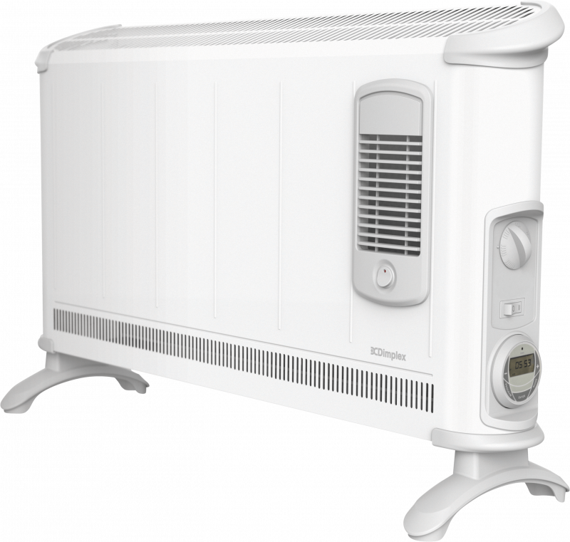 40 Series 3kw Convector Heater With Turbo Fan And Timer
