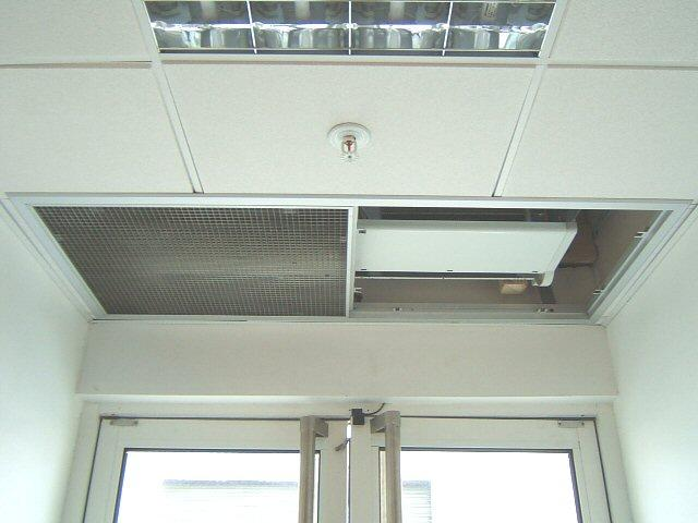 Air Curtain - Electric 1m Commercial Air Curtain Recessed CAB10ER - CAB10ER - 1