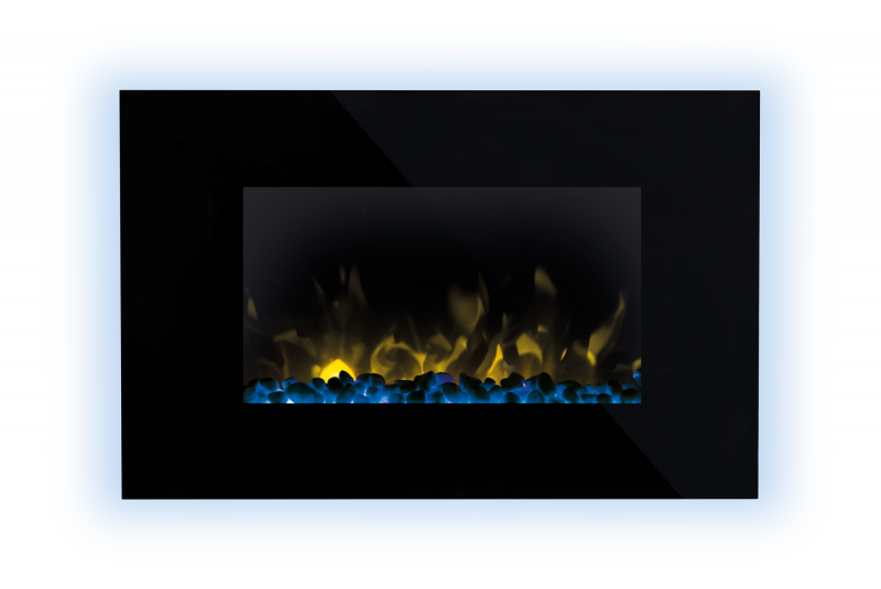 Dimplex-Toluca-Wall-Fire---Front---Stones---Blue