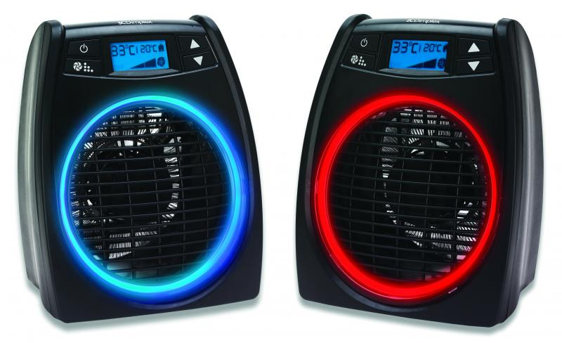 Fan Heaters - 2kW GloFan Heater with Easy to Read LCD screen - DXGLO2 - 3