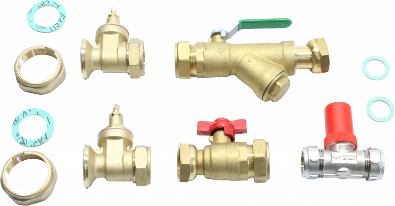 ISOLATION VALVE - RETURN WITH STRAINER - 3352900 - 0