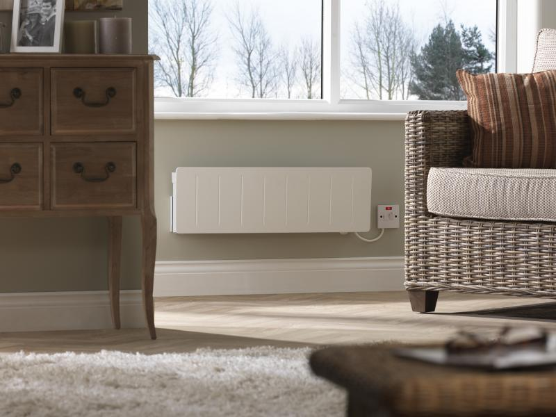 Low profile conservatory heater