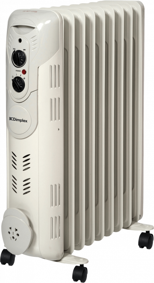 Oil Filled Radiators - Essentials 1.5kW Oil Filled Column Heater - DEOC20 - 0