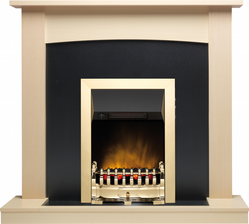 Classic Fireplace In A Maple Finish Dimplex