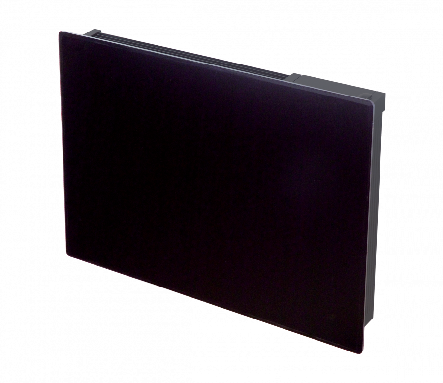 Girona 0 50kw Black Glass Fronted Panel Heater Dimplex
