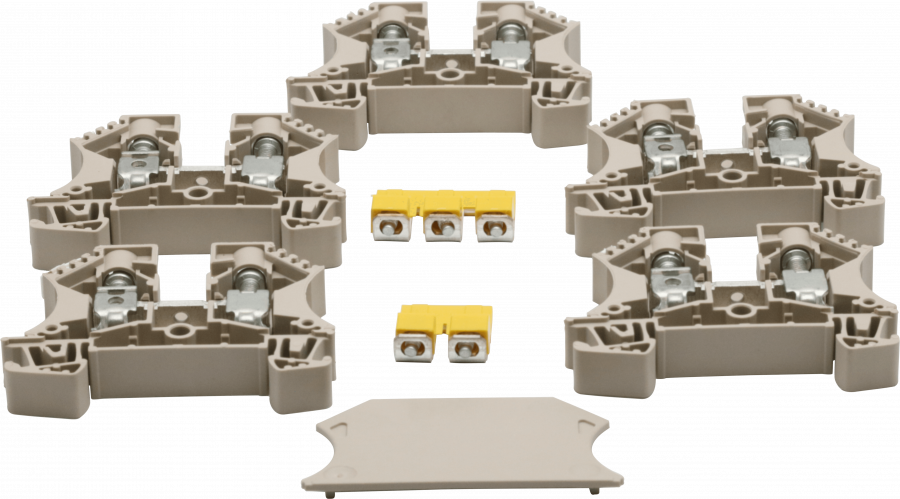 Components & Spares - R7/8/10 MAINS TERMINAL BLOCK ASSY - 90190 - 1