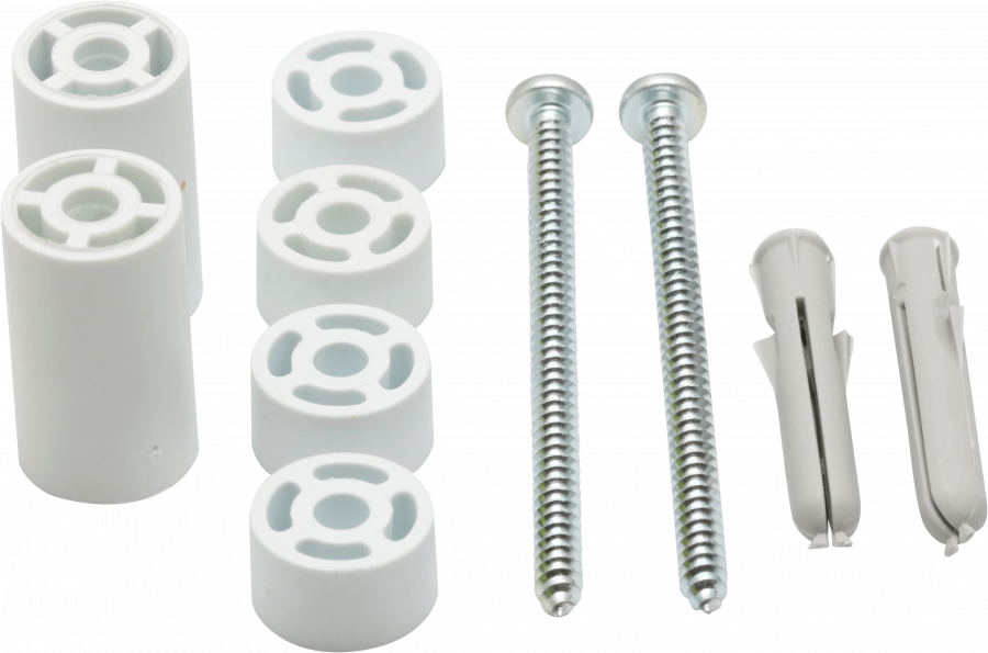 Components & Spares - RADIATOR FIXING KIT (SPACERS) - 85739S - 0
