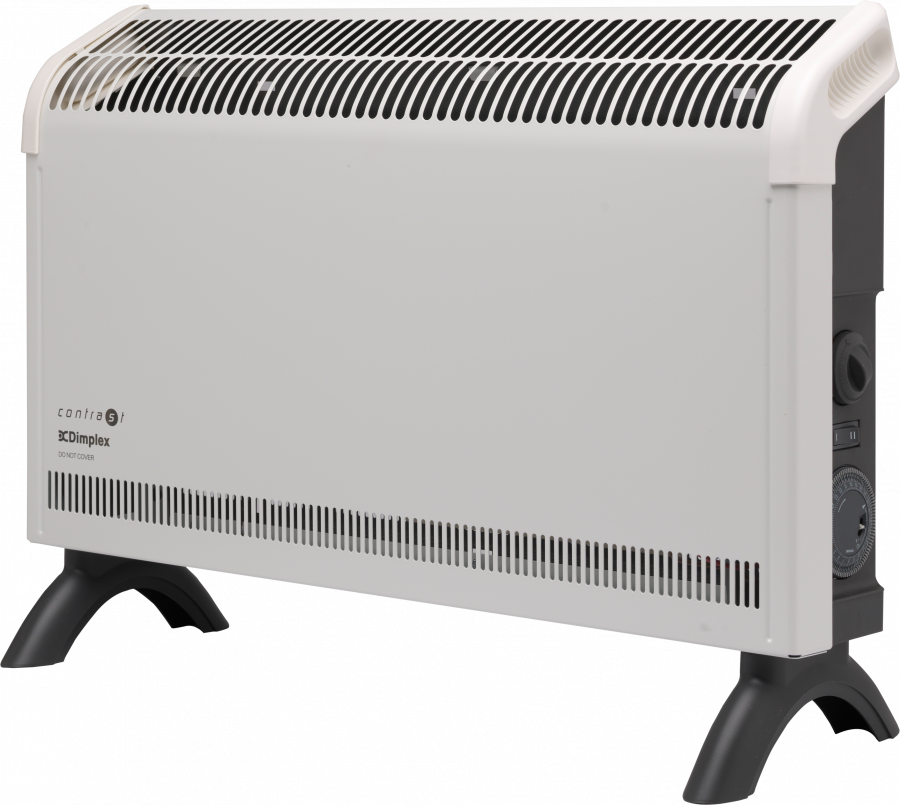 Convector Heaters - 2kW Contrast Convector Heater with Timer  - DXC20Ti - 0
