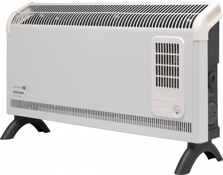 3kw Contrast Convector Heater With Turbo Fan And Timer