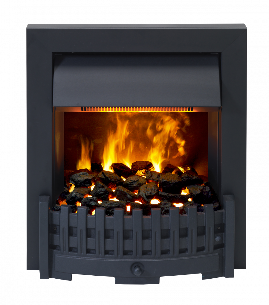 Danville Black Optimyst Electric Fire Dimplex