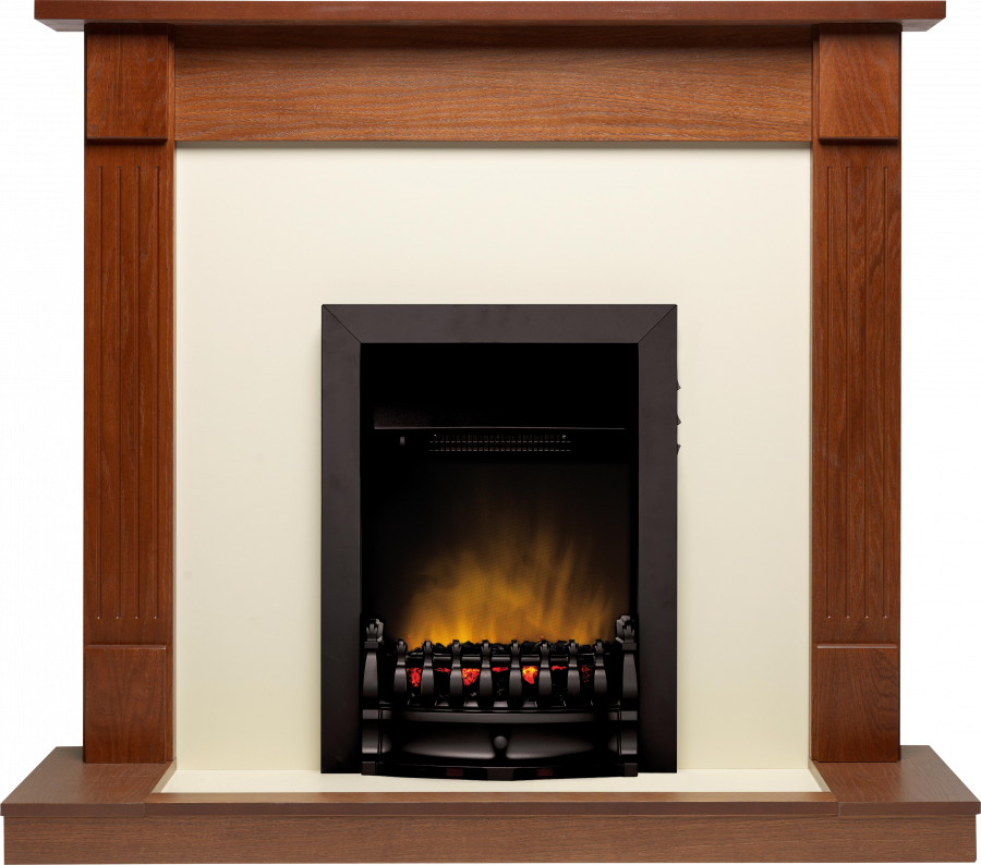 Durham Oak Balmoral Black
