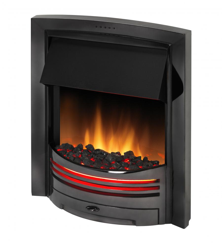 Inset Fire - Adagio Black Nickel - ADG20BN - 2