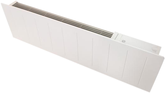 Low profile electric heater