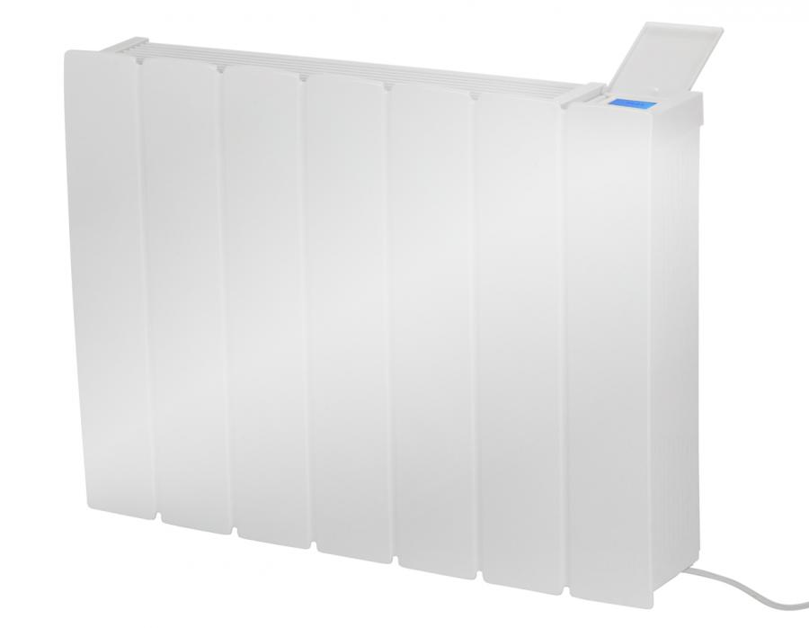Metal fronted fan convector