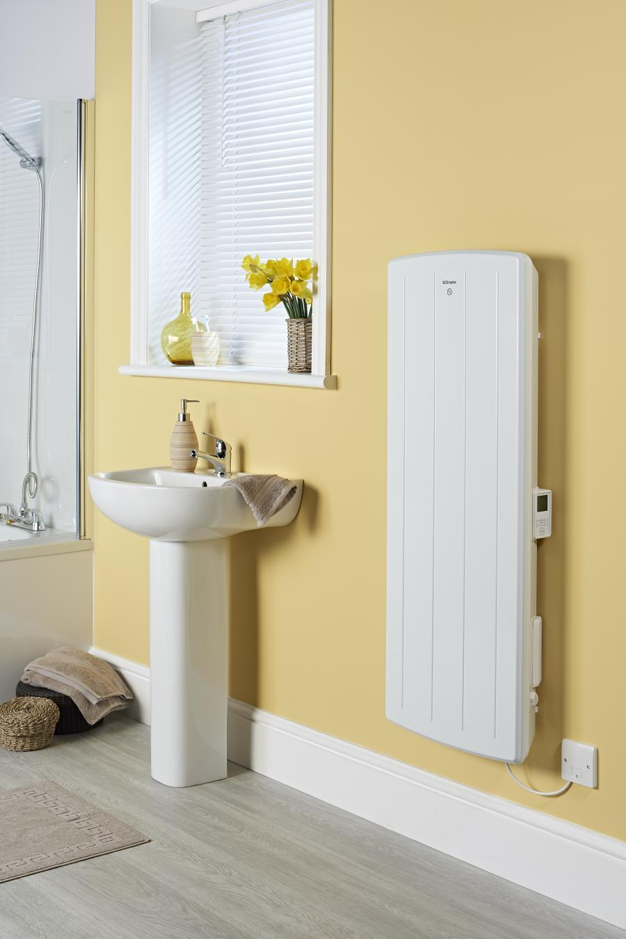 Small Bathroom Electric Wall Heaters: BPH 1.00kW Bathroom Panel Heater