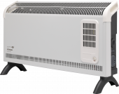 Convector Heaters - 3kW Contrast Convector Heater with Turbo Fan and Timer - DXC30FTi - 0