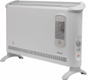 Convector Heaters - 40 Series 3kW Convector Heater with Turbo Fan - 403TSF - 1