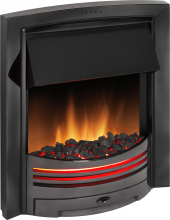 Inset Fire - Adagio Black Nickel - ADG20BN - 0