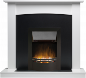 Teviot White Stone Effect Dakota Black