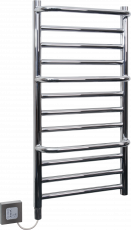 Towel Rails - 120W Chrome Stepped Towel Rail CPTS - CPTS - 0
