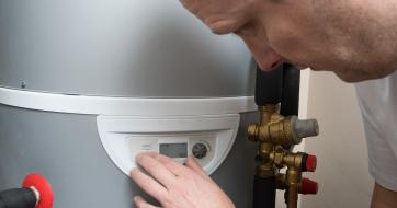 Edel Hot Water Heat Pump saving running costs for Jersey homeowner