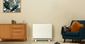 Quantum off peak electric heater - heating day and night
