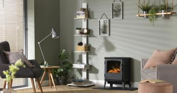 Dimplex Bari Optiflame Fire Room Image