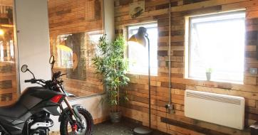 Dimplex PLXE electric panel heaters at the Veterans' Garage